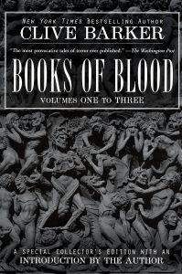 Books of Blood livre