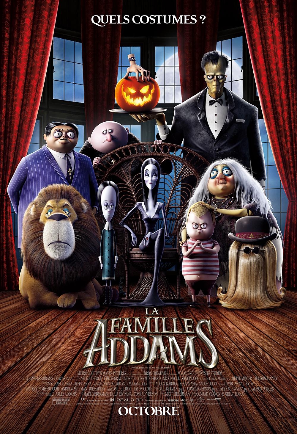 La Famille Addams Affiche français