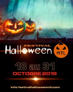 festival Halloween MTL