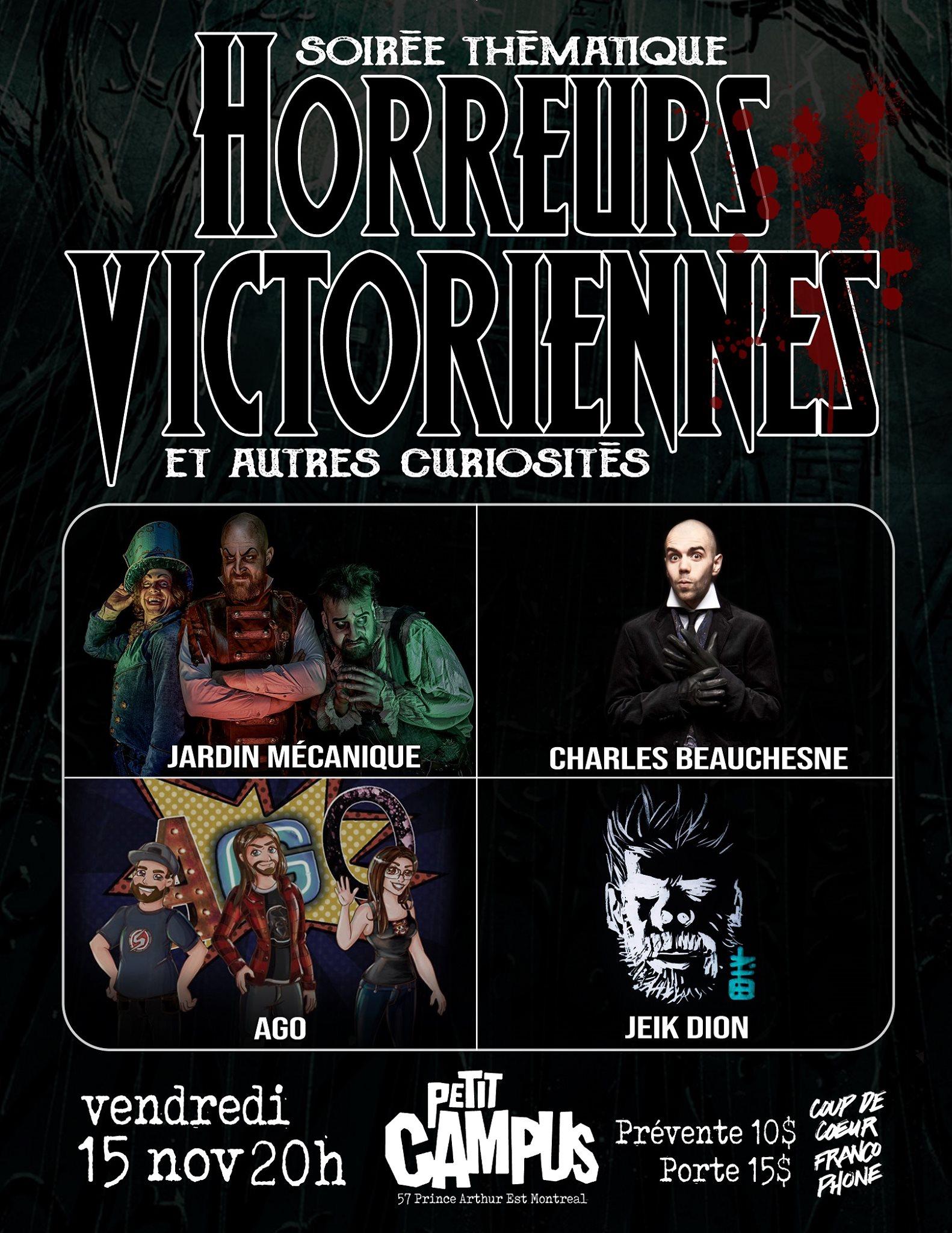 Horreurs Victoriennes et autres curiosités