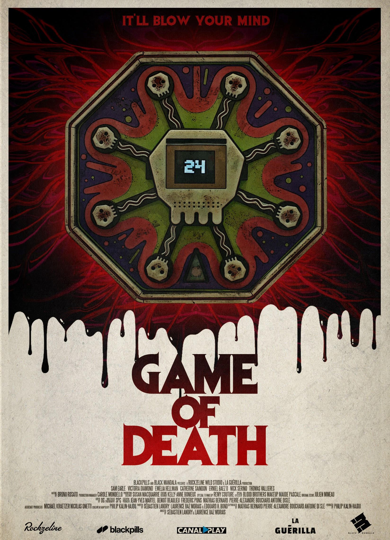 Poster Game of Death 1