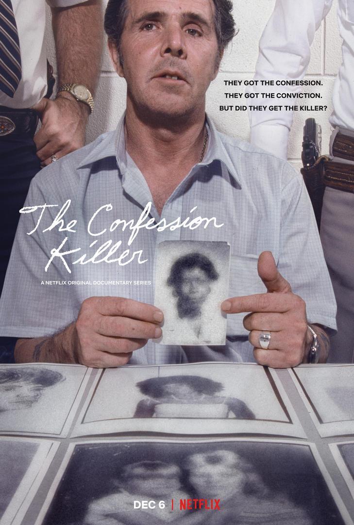 The Confession Killer affiche série Netflix