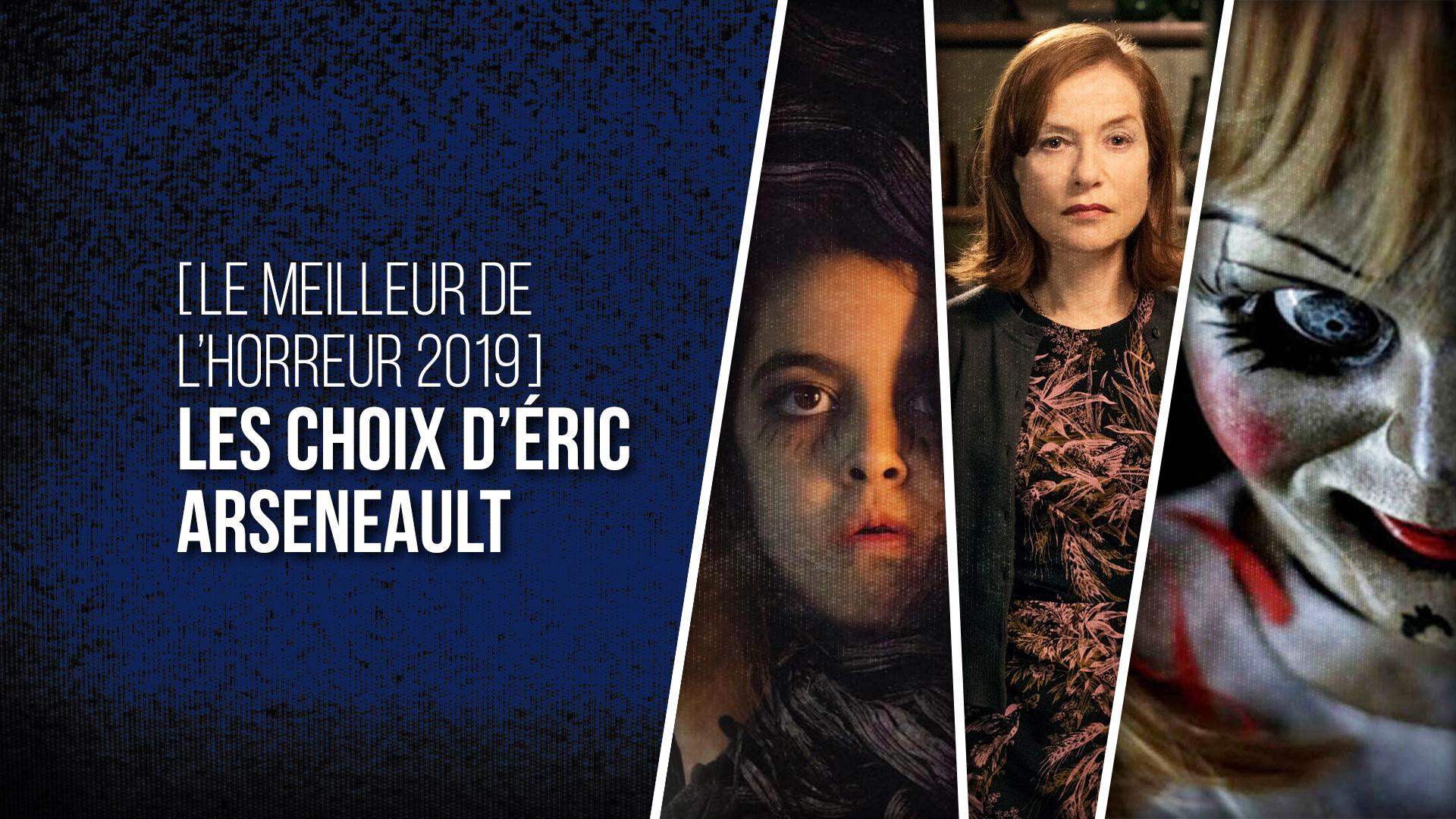 Choix Éric Arseneault 2019