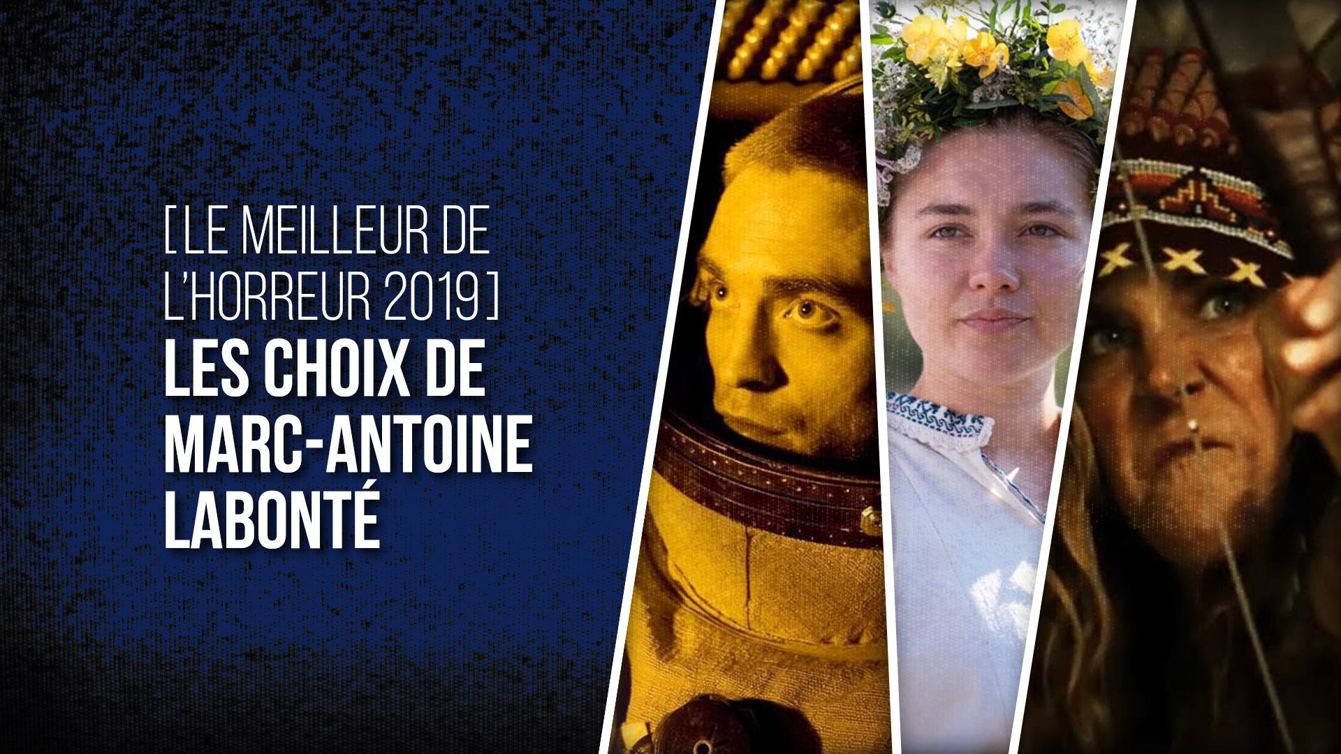 Choix Marc-Antoine Labonté 2019