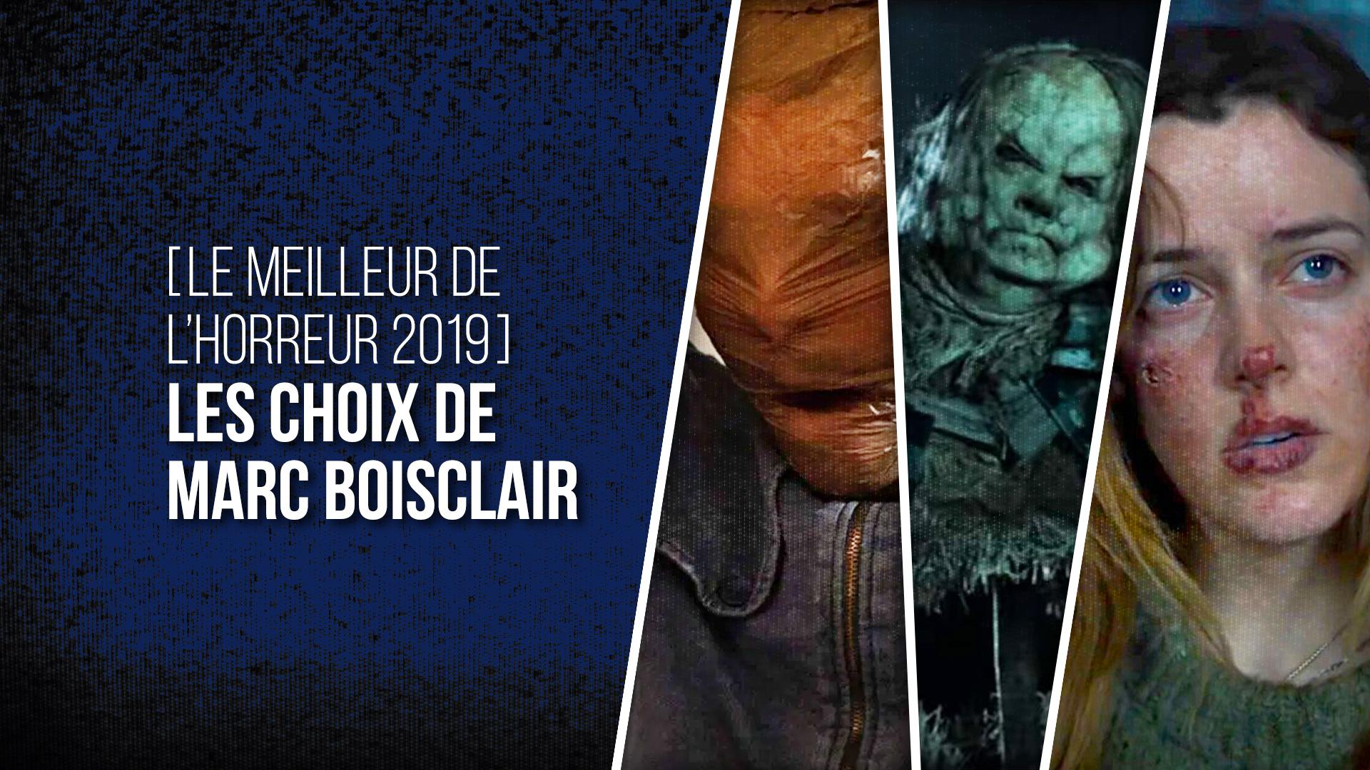 Choix Marc Boisclair 2019