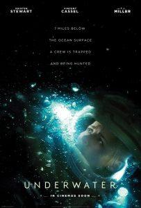 Underwater affiche film