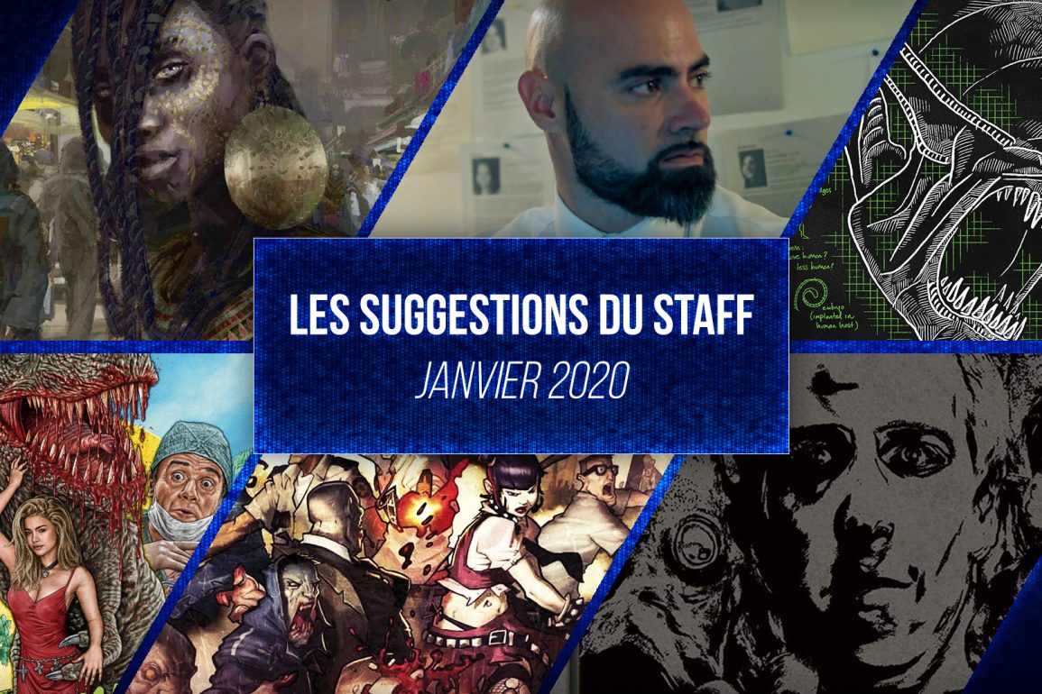 suggestions du staff janvier