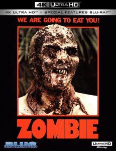 Zombie 4K UltraHD 1979 affiche film