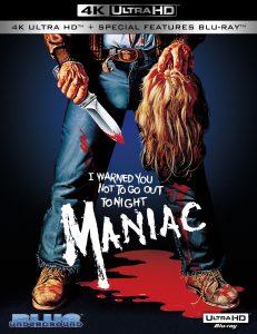 Maniac 4K Ultra HD 1980 affiche film