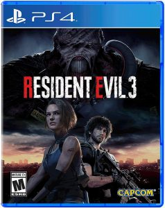 Resident Evil 2 pochette jeu