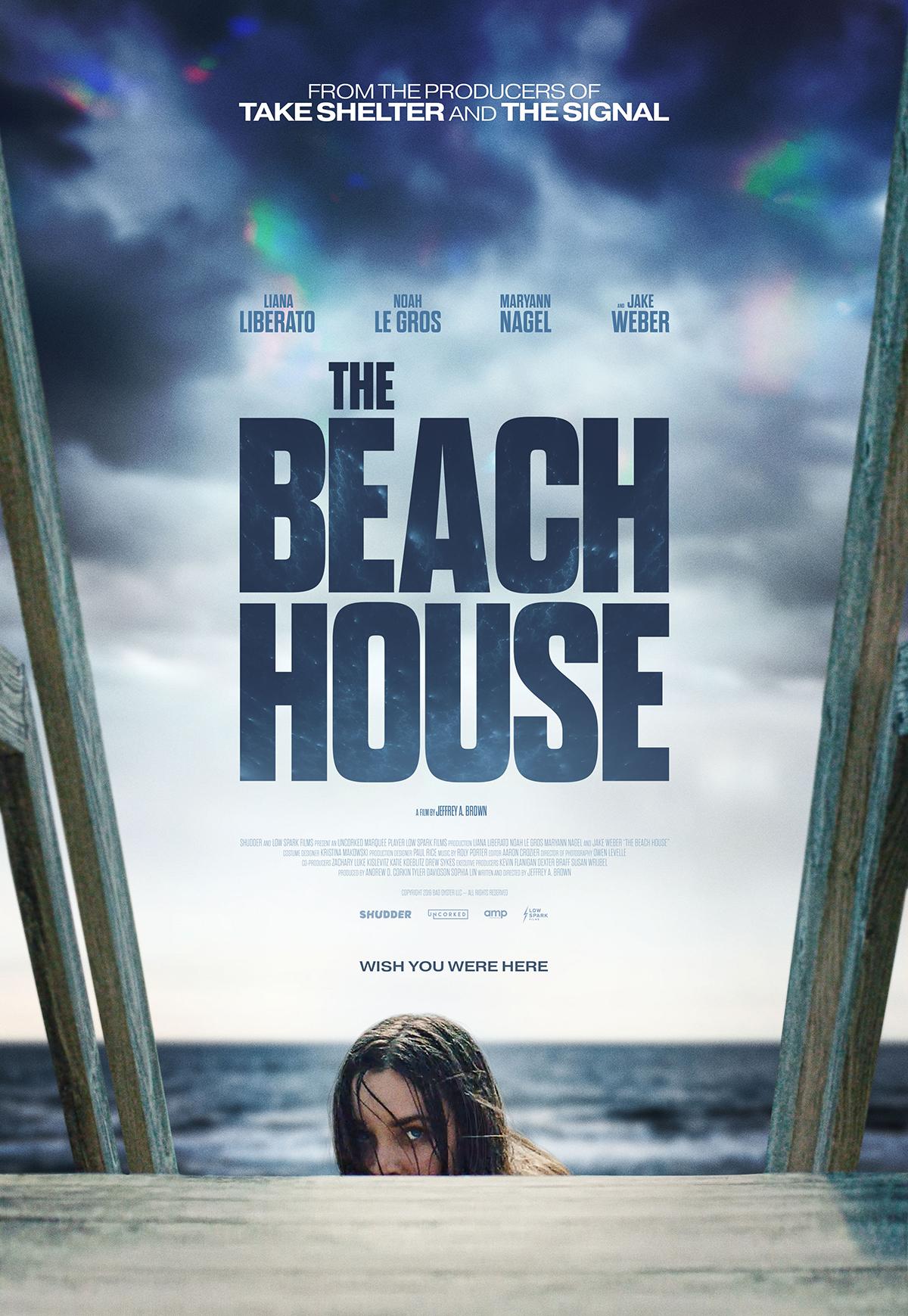 The beach house affiche film