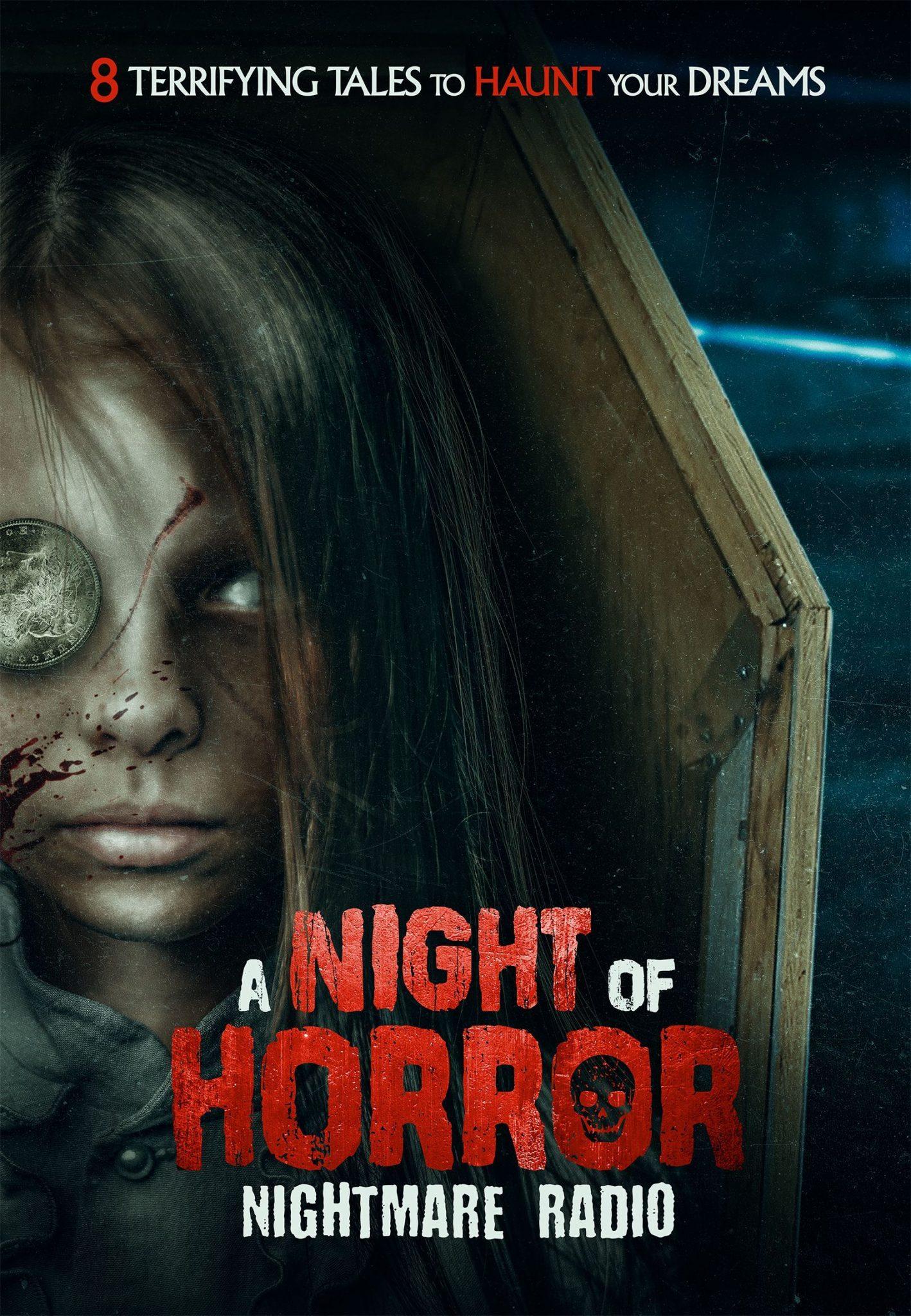 Night of horror nightmare radio affiche