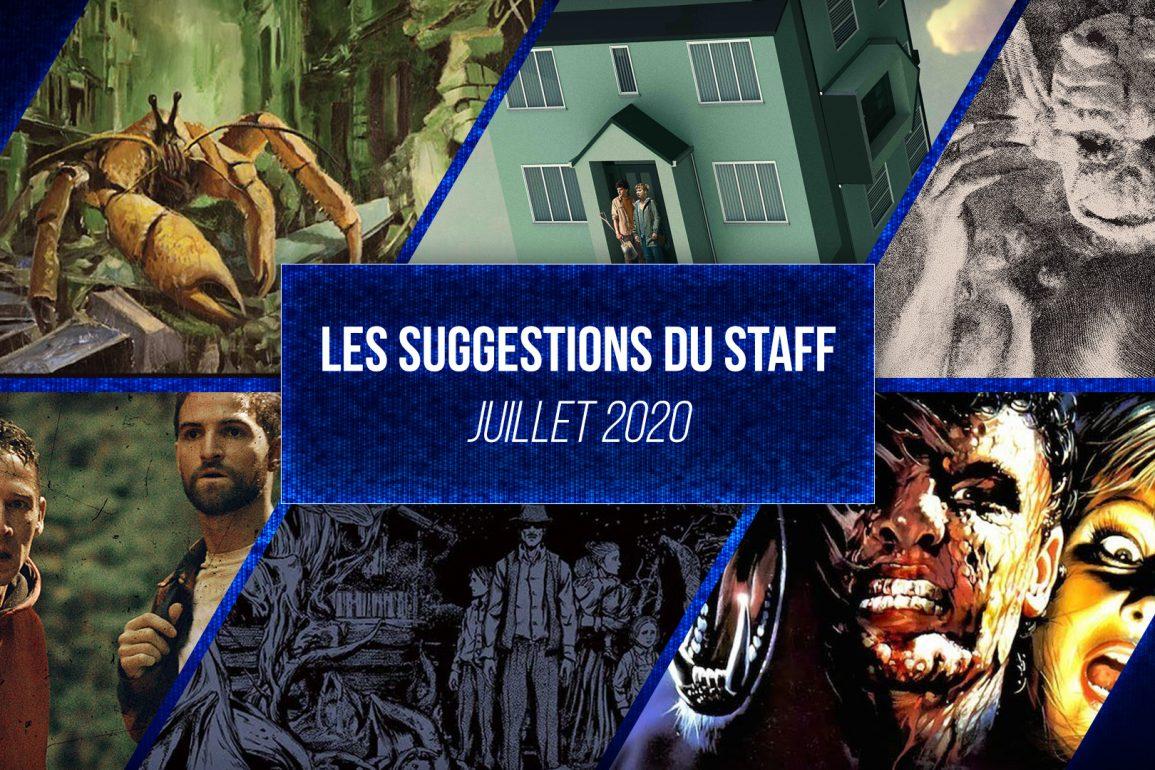 suggestion du staff juillet
