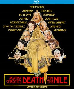 Death on the Nile 1978 affiche film