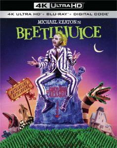 Beetlejuice 4K UltraHD 1988 affiche film