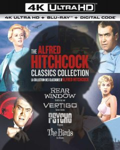 The Alfred Hitchcock Classics Collection 4K UltraHD 1954-1963 affiche film