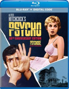 Psycho (Uncut) 60th Anniversary Edition 1960 affiche film