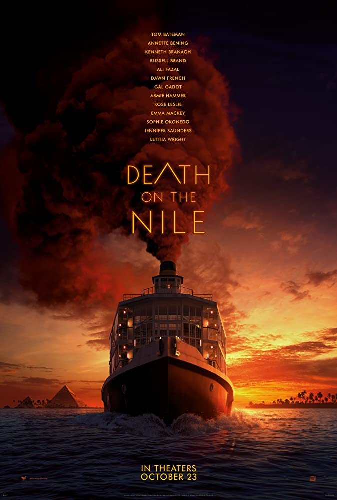 Death on the Nile affiche film