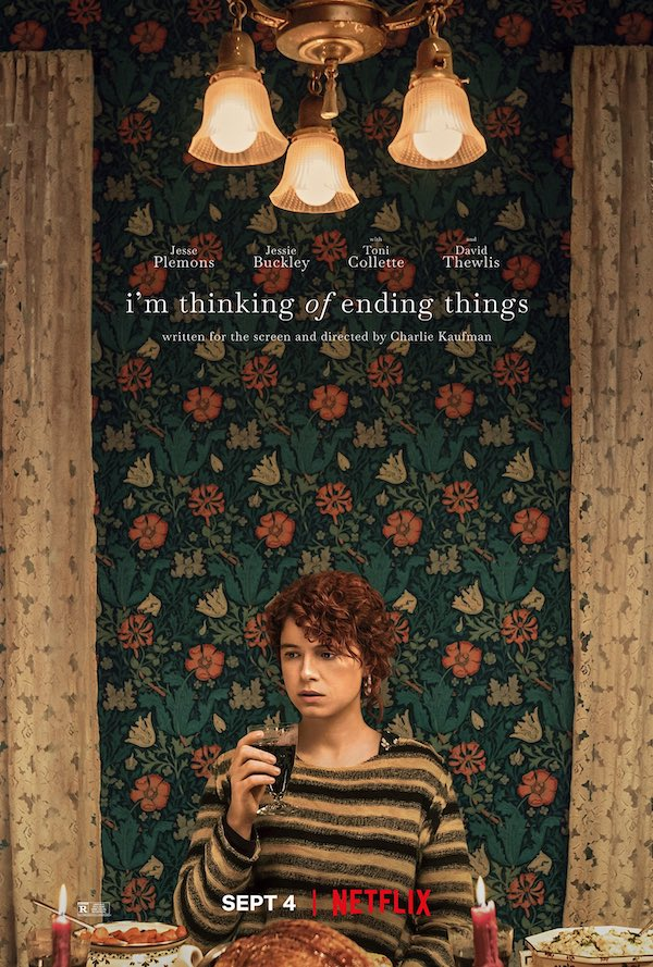 I'm thinking of ending things affiche film