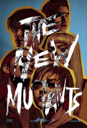 The new mutants affiche film