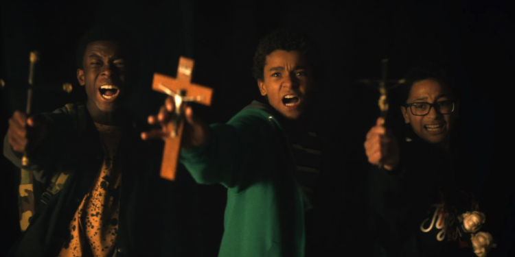 Vampires VS The Bronx image film