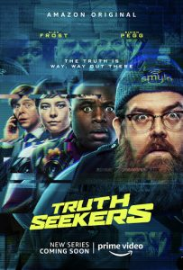 Truth Seekers affiche Amazon Prime