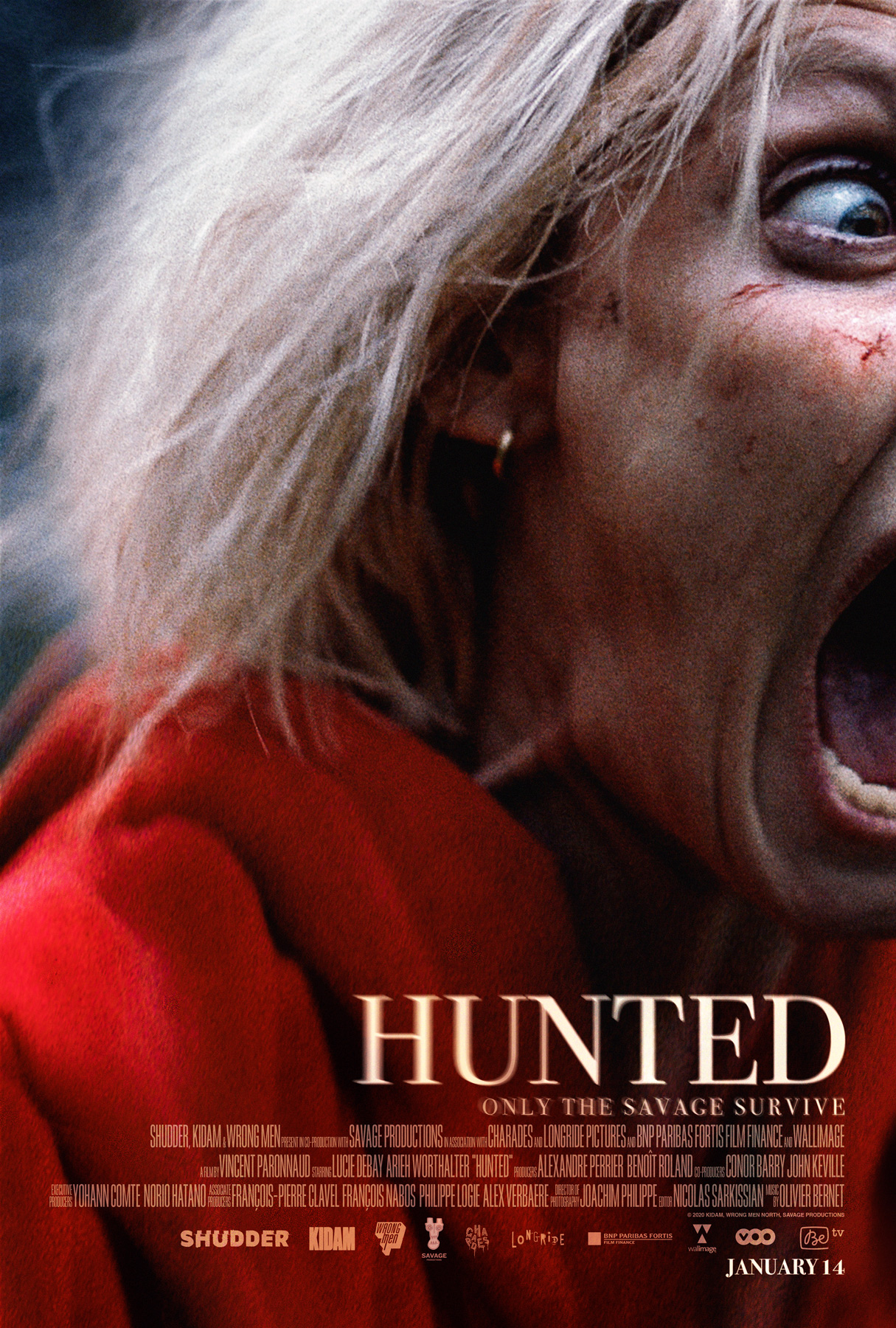 Hunted poster 1215x1800 1