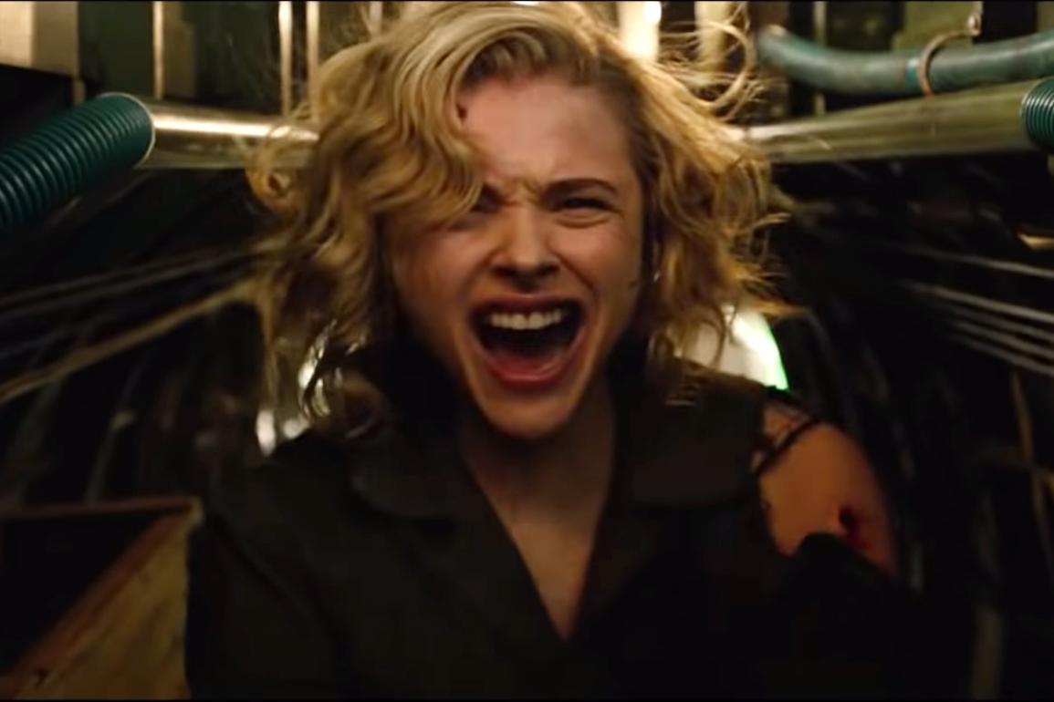 SHADOW IN THE CLOUD Official Trailer 2021 Chloë Grace Moretz Sci Fi Monster Movie HD 0 45 screenshot