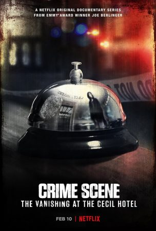 Crime Scene The Vanishing at the Cecil Hotel affiche Netflix