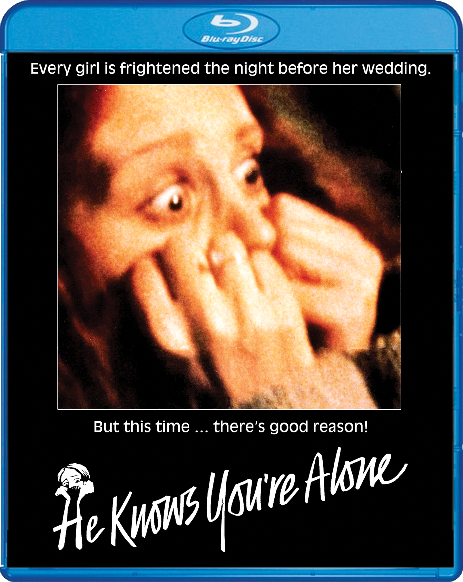 he knows youre alone blu ray