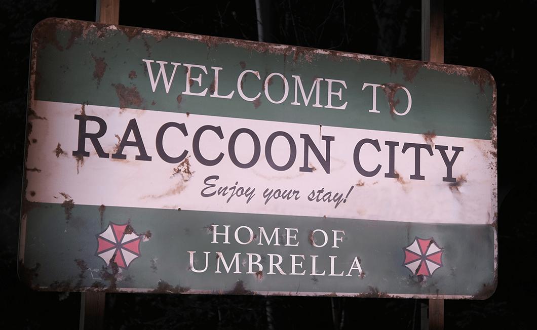 resident evil racooon city