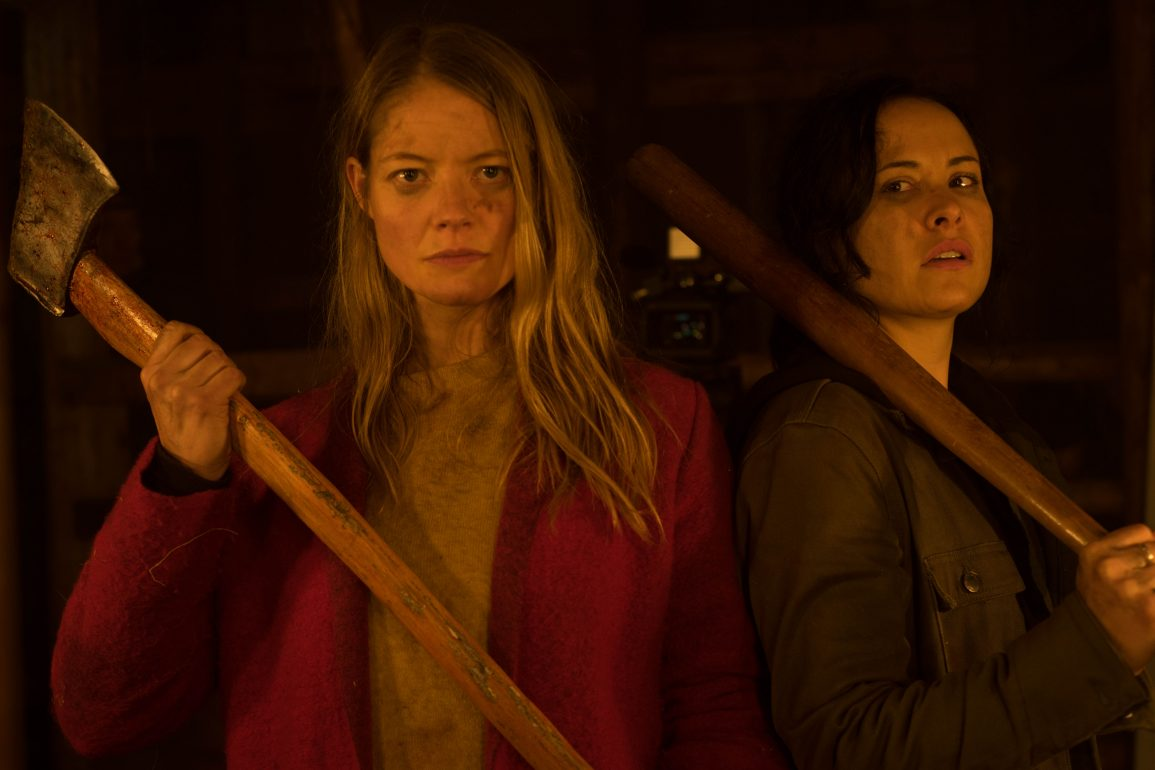 Sarah Allen playing Valerie and Tommie Amber Pirie playing Renee