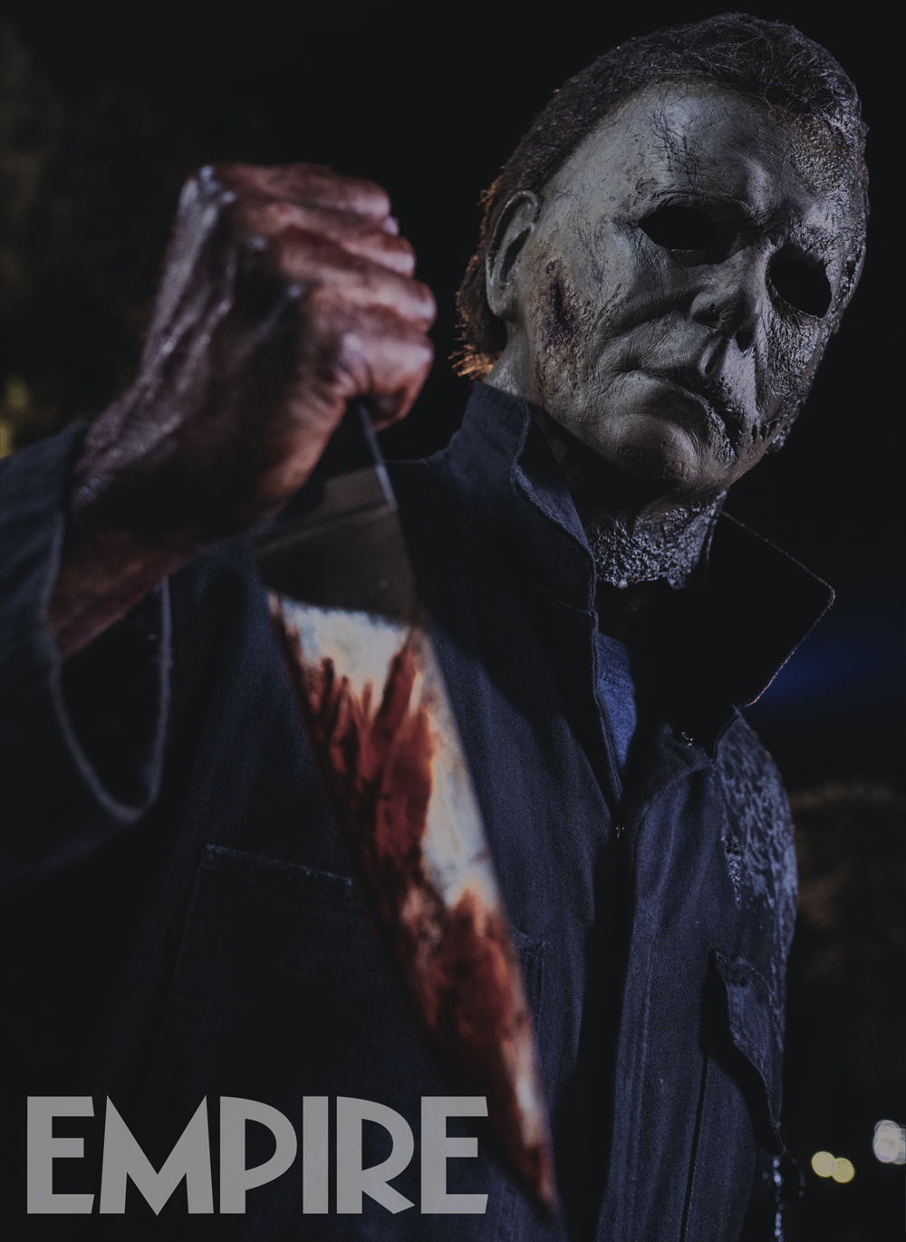 Michael Myers masque calciné Halloween Kills