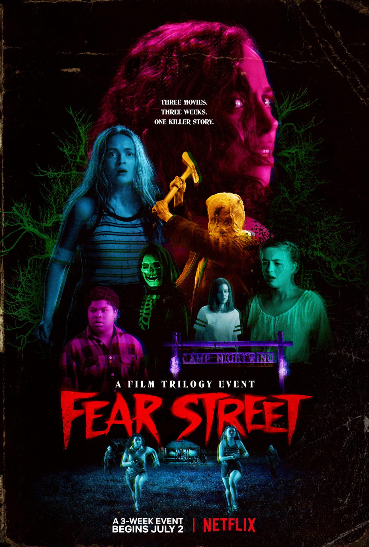 Fear Street trilogy affiche Netflix