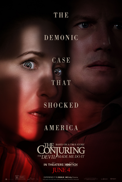 The Conjuring the devil Made me do it affiche folm
