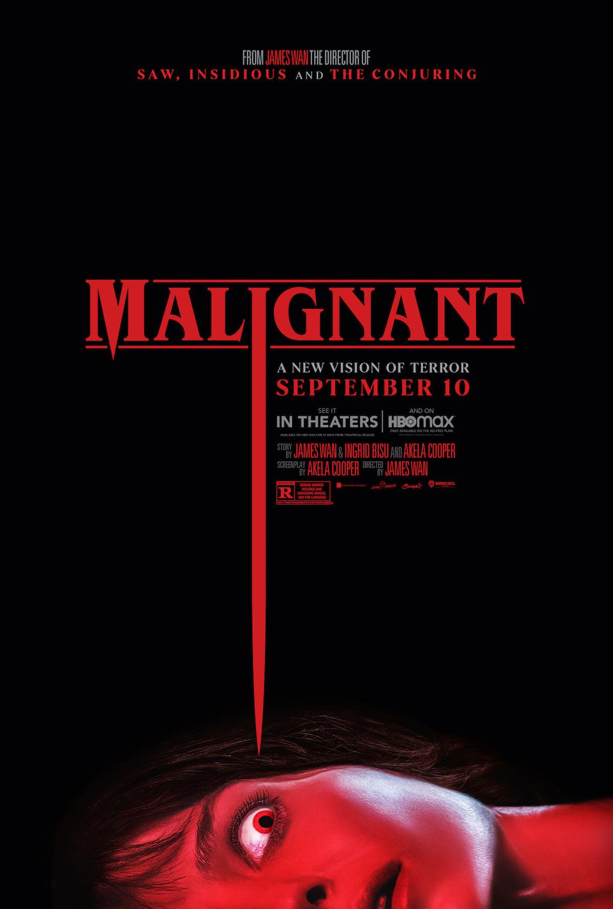 Malignant affiche film