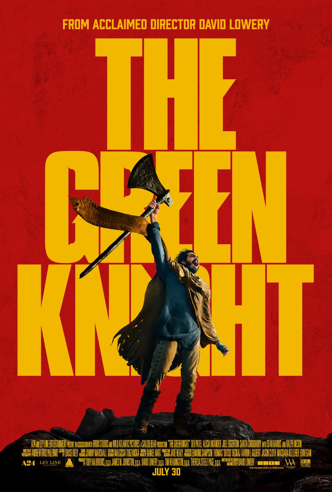 The green Knight cineplex film