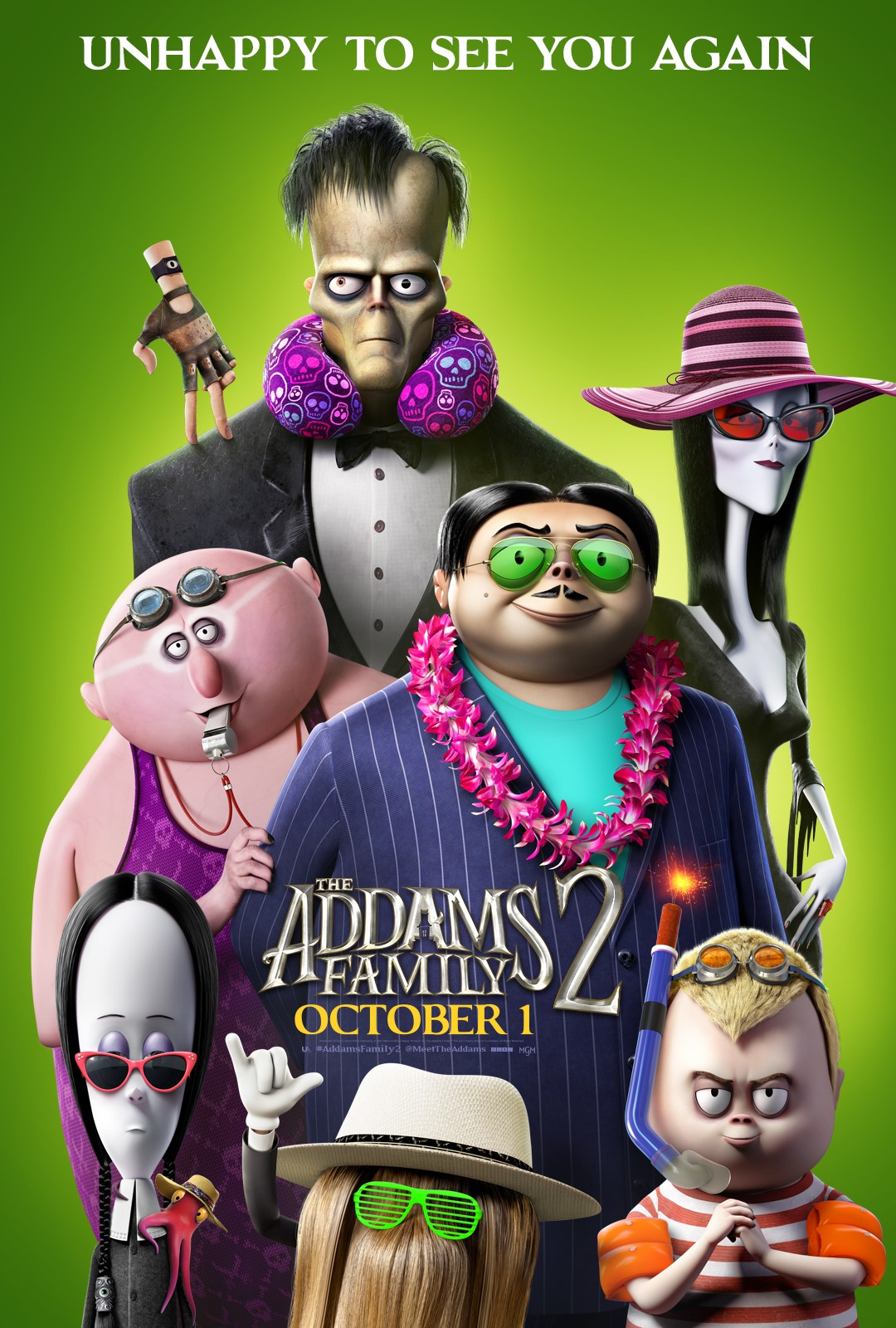 addams familly 2 affiche