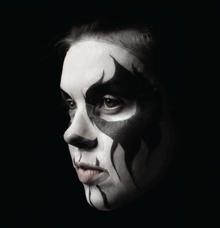 brs kaamos cosmetics corpse paint green tea mask pack