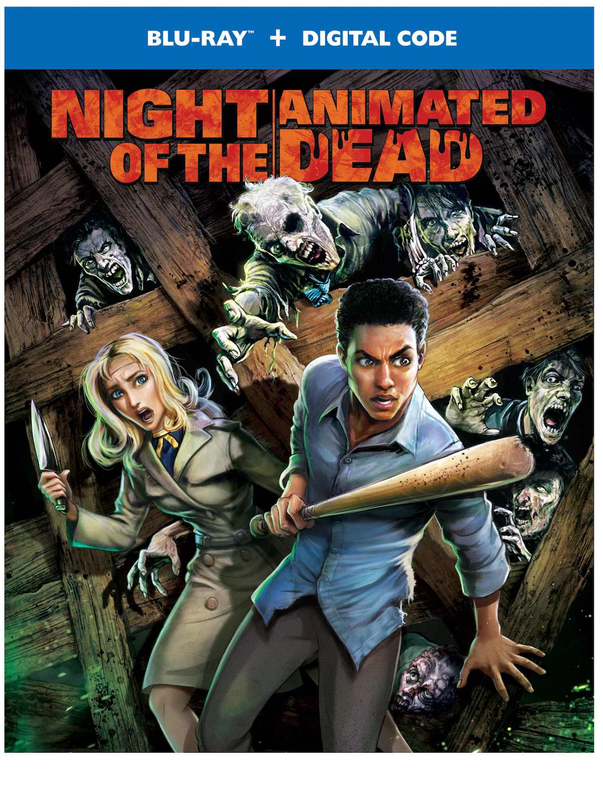 Night of the Animated Dead affiche film