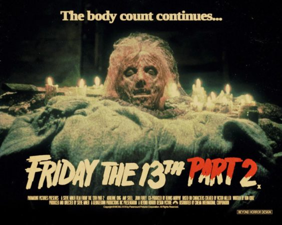 Friday the 13th Part 2 affiche film