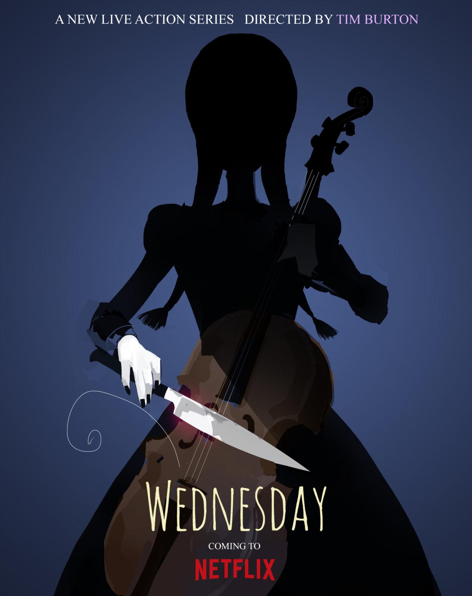 Wednesday affiche film