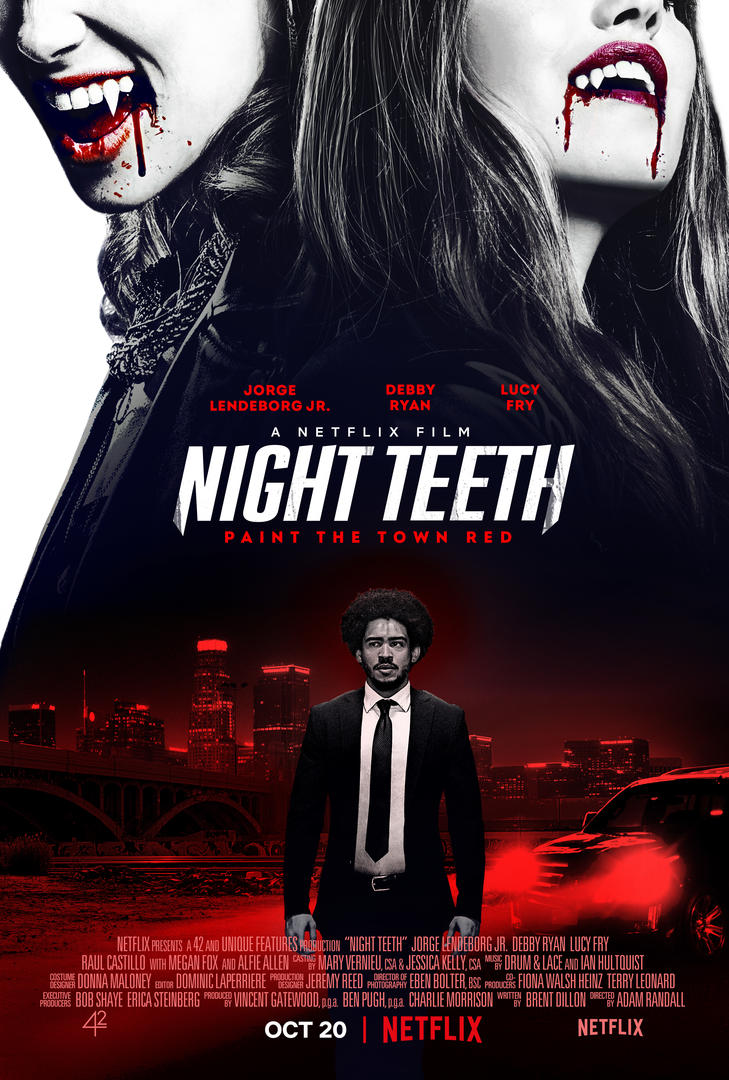 Night Teeth affiche Netflix