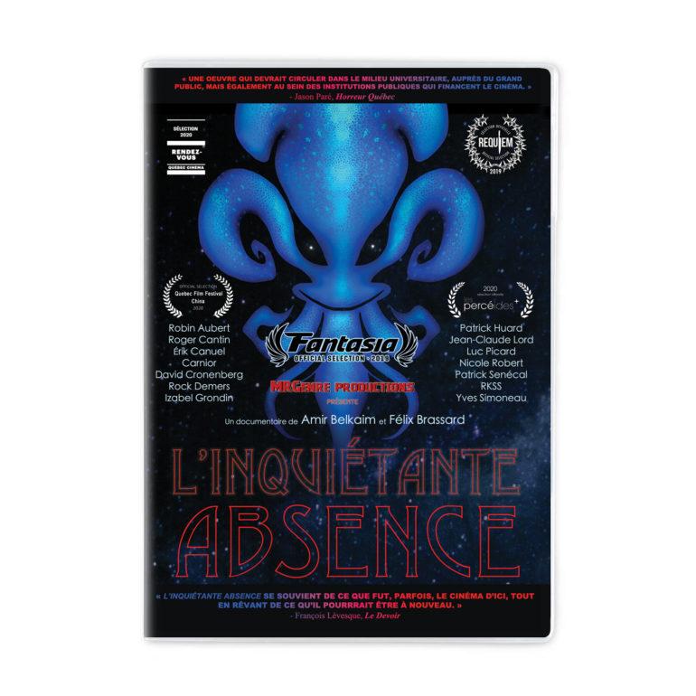 DVD Inquietante absence