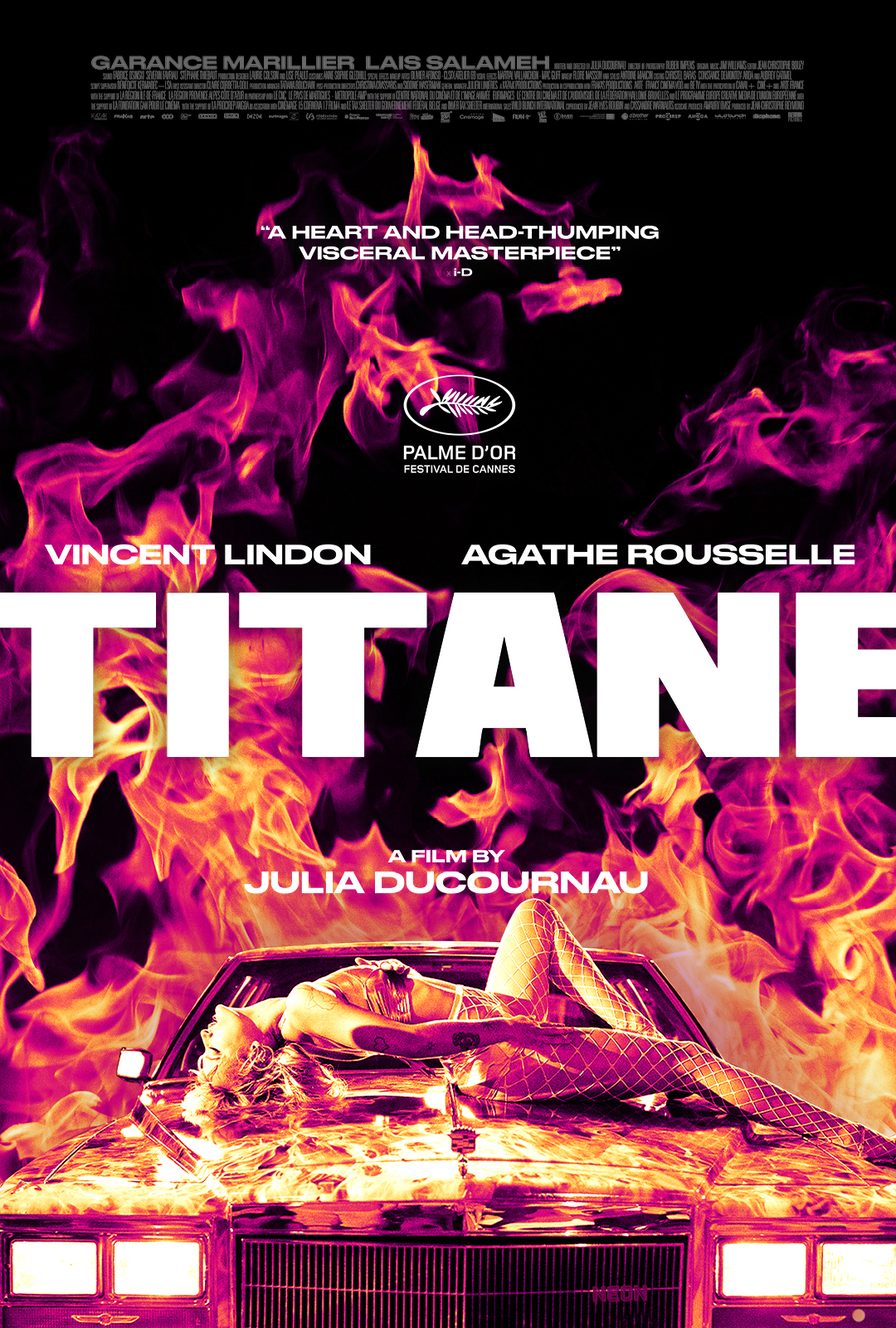Titane affiche film