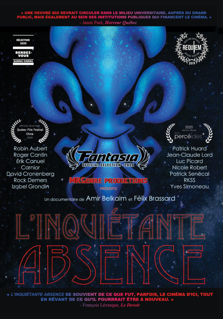 inquietante absence dvd cover